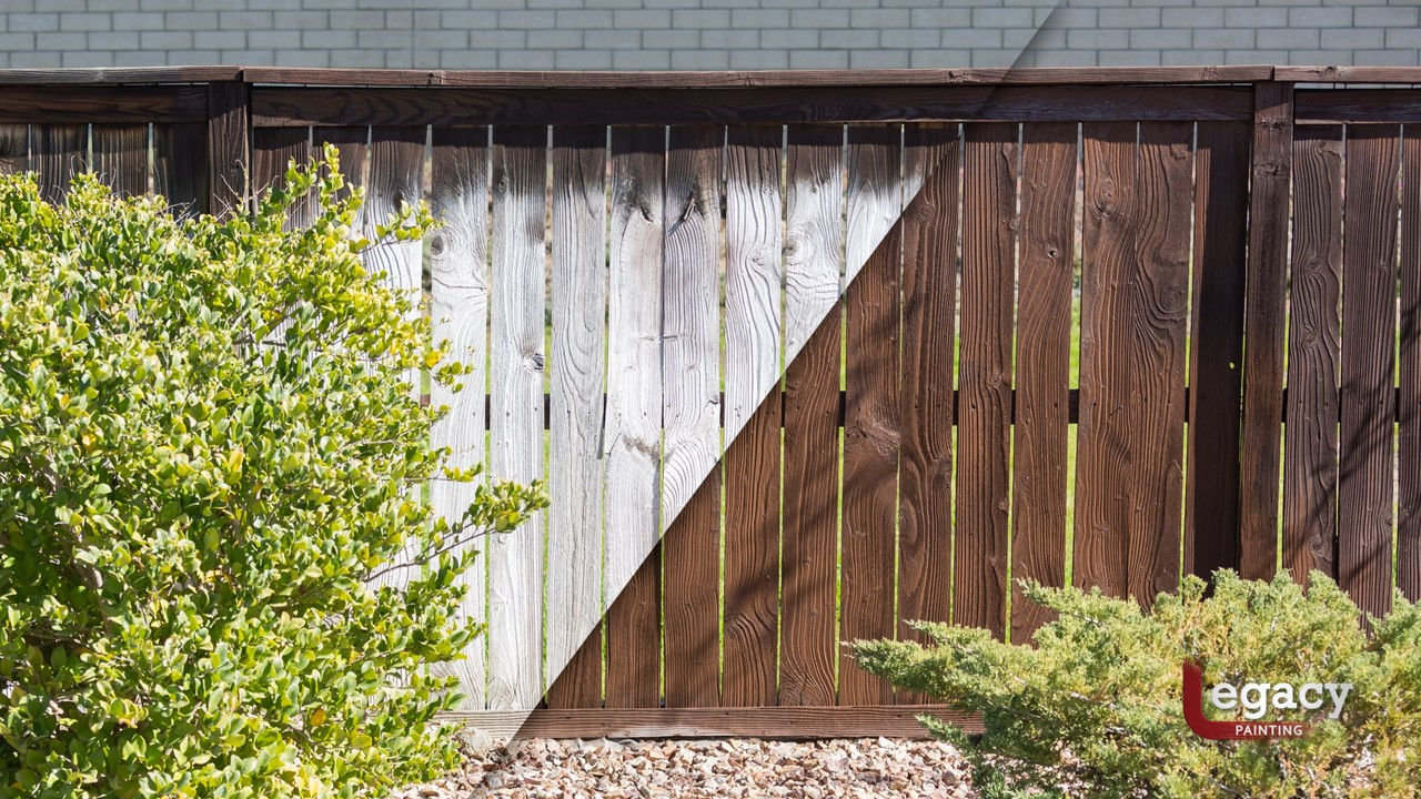 Calculating Fence Staining Cost