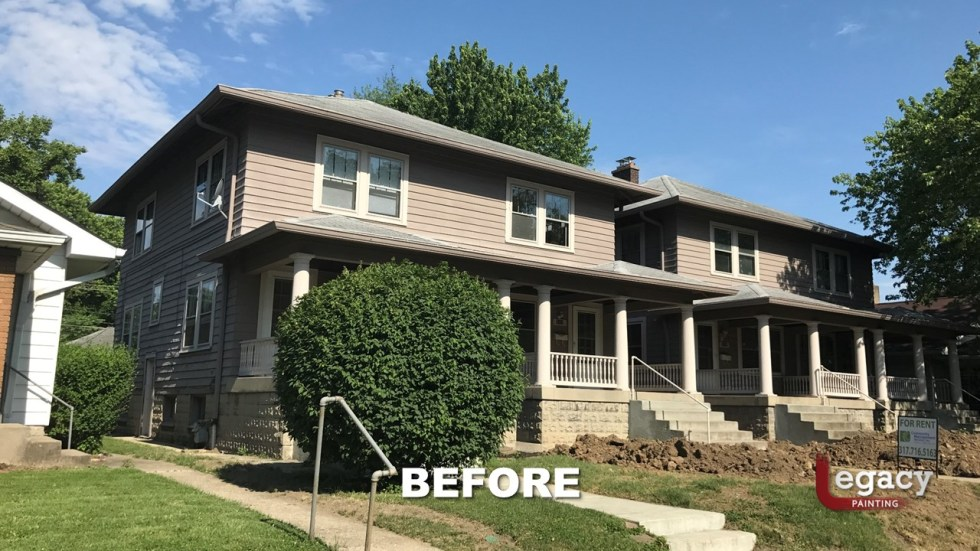 House Painting N College Ave Indianapolis 1