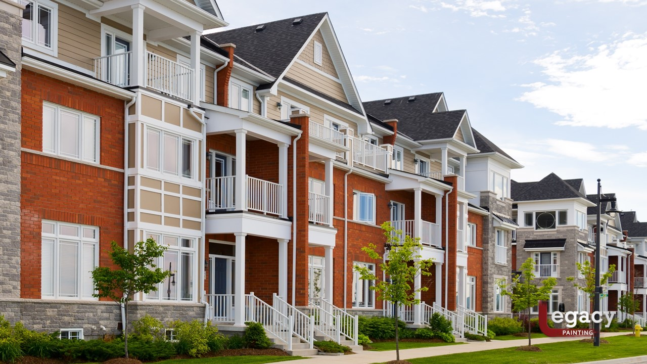 5 Reasons Why Property Managers Use Legacy Painting