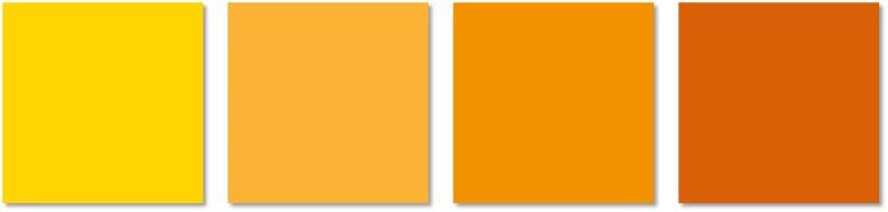 interior painting - orange