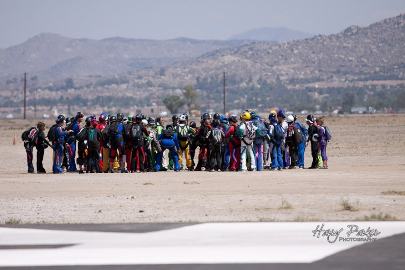Big Way Skydiving Dirt Dive, Photo By Harry parker Photography