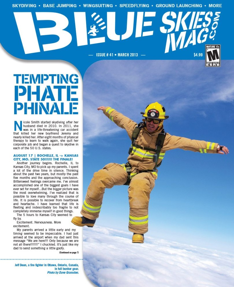 Blue Skies Mag issue 41 March 2013