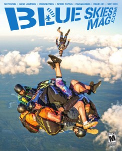 """Blue Skies Magazine i81: September 016   A 9-way tube dive during the tenth annual """"Q"""" Boogie at Jumptown in Orange, Massachusetts. Photo by Daniel Schiermeyer.   https://blueskiesmag.com/project/i81-september-2016"""