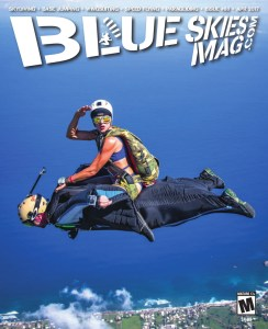 Blue Skies Magazine i88: April 2017   Robyn Young rides Oliver Henry at the Puerto Rico Freefall Festival. Photo by Jeff Donohue, facebook.com/SkwrlProductions   https://www.blueskiesmag.com/project/i88-april-2017