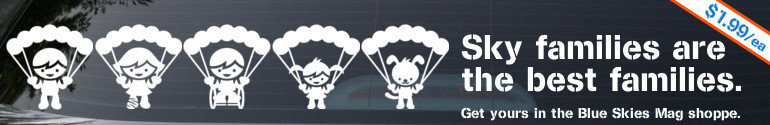 Sky families are the best families. | http://blueskiesmag.com/shop/sky-family-stickers/