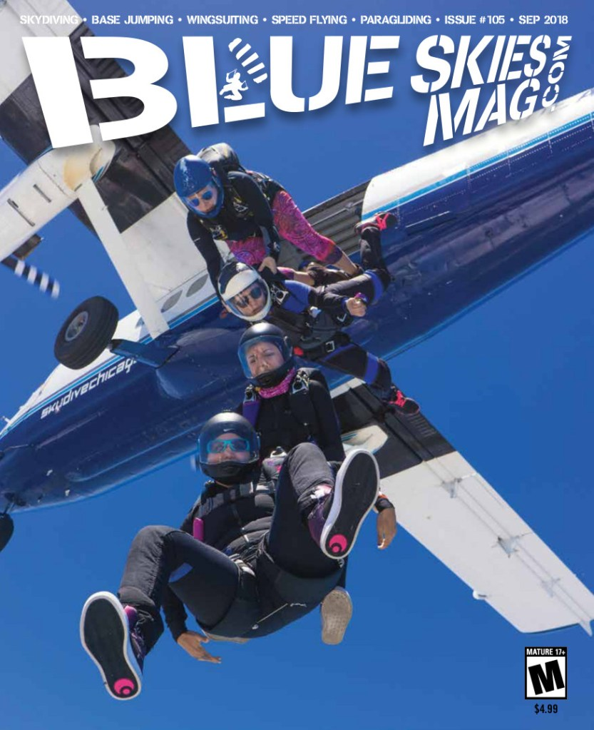 """Blue Skies Magazine i105: September 2018 