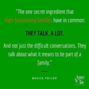 family storytelling retreat
