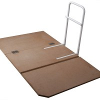 Drive Medical Bed Assist Rail with Folding Board