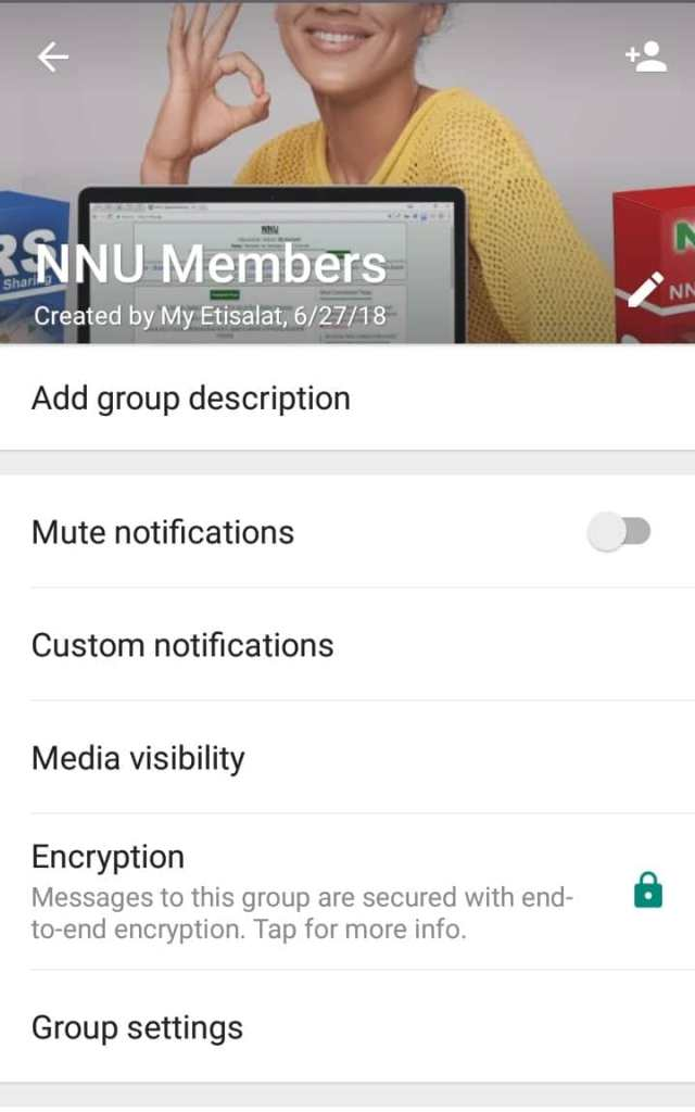 How to delete whatsapp group