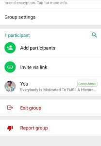 Remove whatsapp group participants