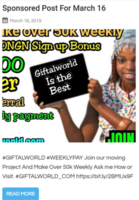 Giftalworld Sponsored Post