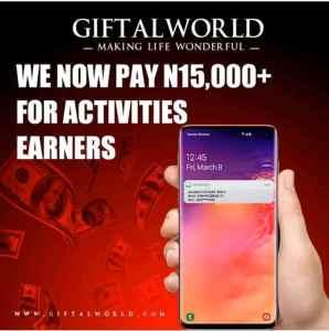 Giftalworld activities