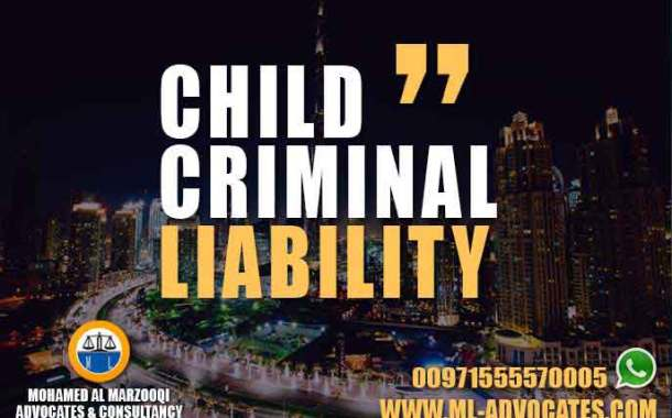 Child Criminal Liability According to the UAE Penal Code