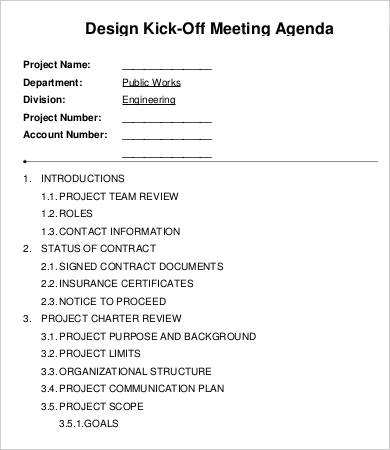 Select focused topics that achieve the goal of the meeting. 22 Free Project Kick Off Meeting Agenda Template Maker For Project Kick Off Meeting Agenda Template Cards Design Templates