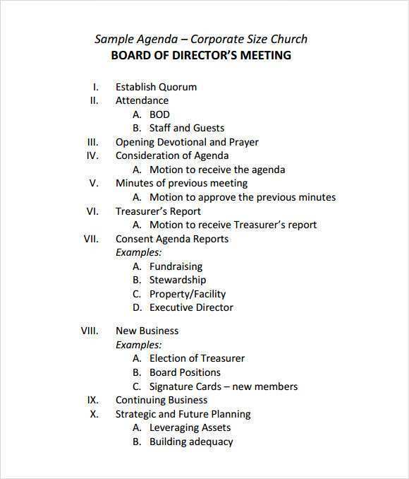 With our board meeting agenda template, you have an example of all of the sections you need in your board meeting agenda. 24 Online Board Meeting Agenda Template For Ms Word For Board Meeting Agenda Template Cards Design Templates