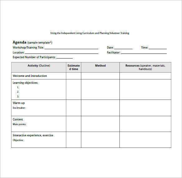 The workshop agenda templates enable an organization to conduct workshops effectively and in a smooth manner. 28 Blank Seminar Agenda Template Free Templates By Seminar Agenda Template Free Cards Design Templates