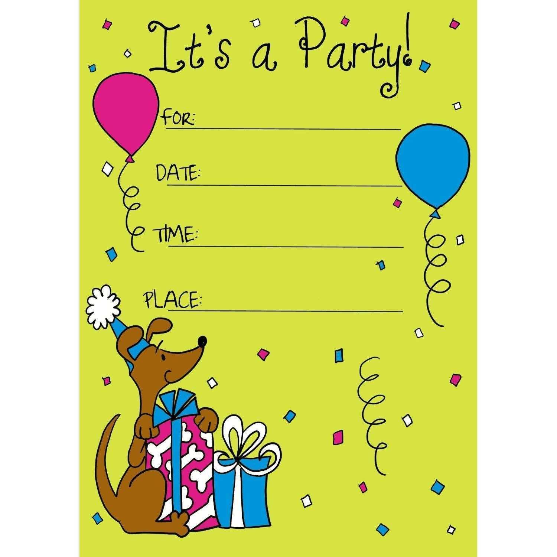 58 free printable birthday invitation