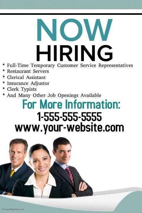 93 best hiring flyer template in
