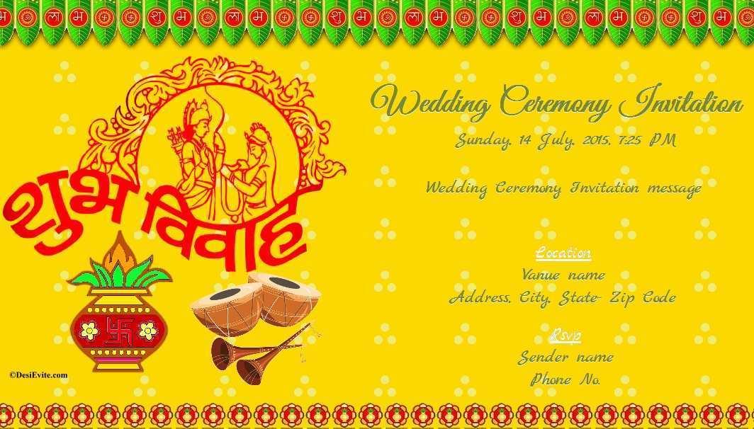94 Customize Indian Wedding Card Templates Online Free Download With Indian Wedding Card Templates Online Free Cards Design Templates