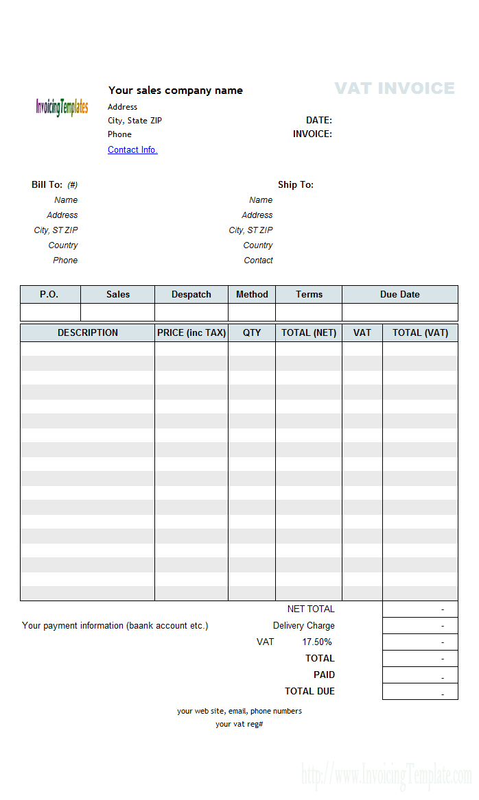 Items and labor, as these invoices have to take both items and actual work done into account on the blank invoice templates , since the job involves both. 96 Free Printable Tax Invoice Template Docx Formating With Tax Invoice Template Docx Cards Design Templates
