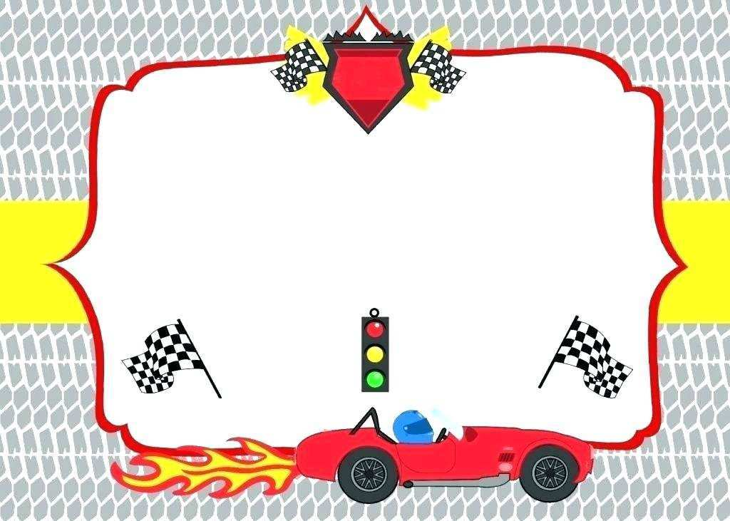 13 creating race car birthday