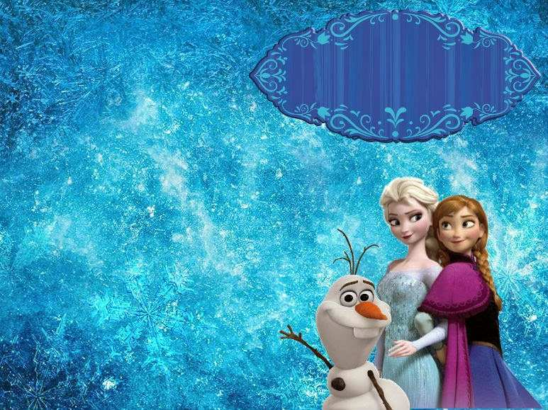 16 create frozen birthday invitation