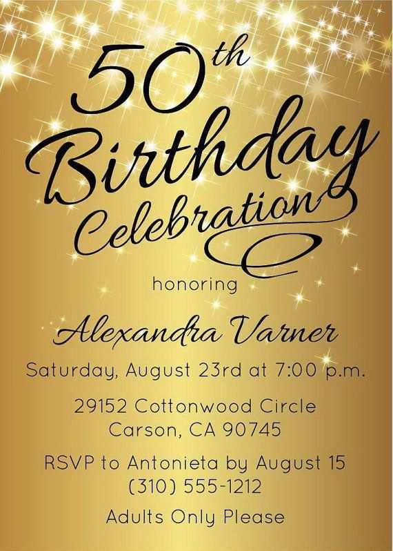 30 format elegant birthday invitation