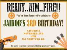 59 format free nerf birthday party