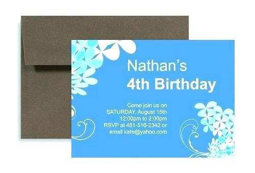 13 creating birthday invitation