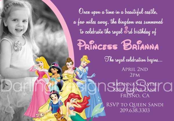 14 online disney princess birthday