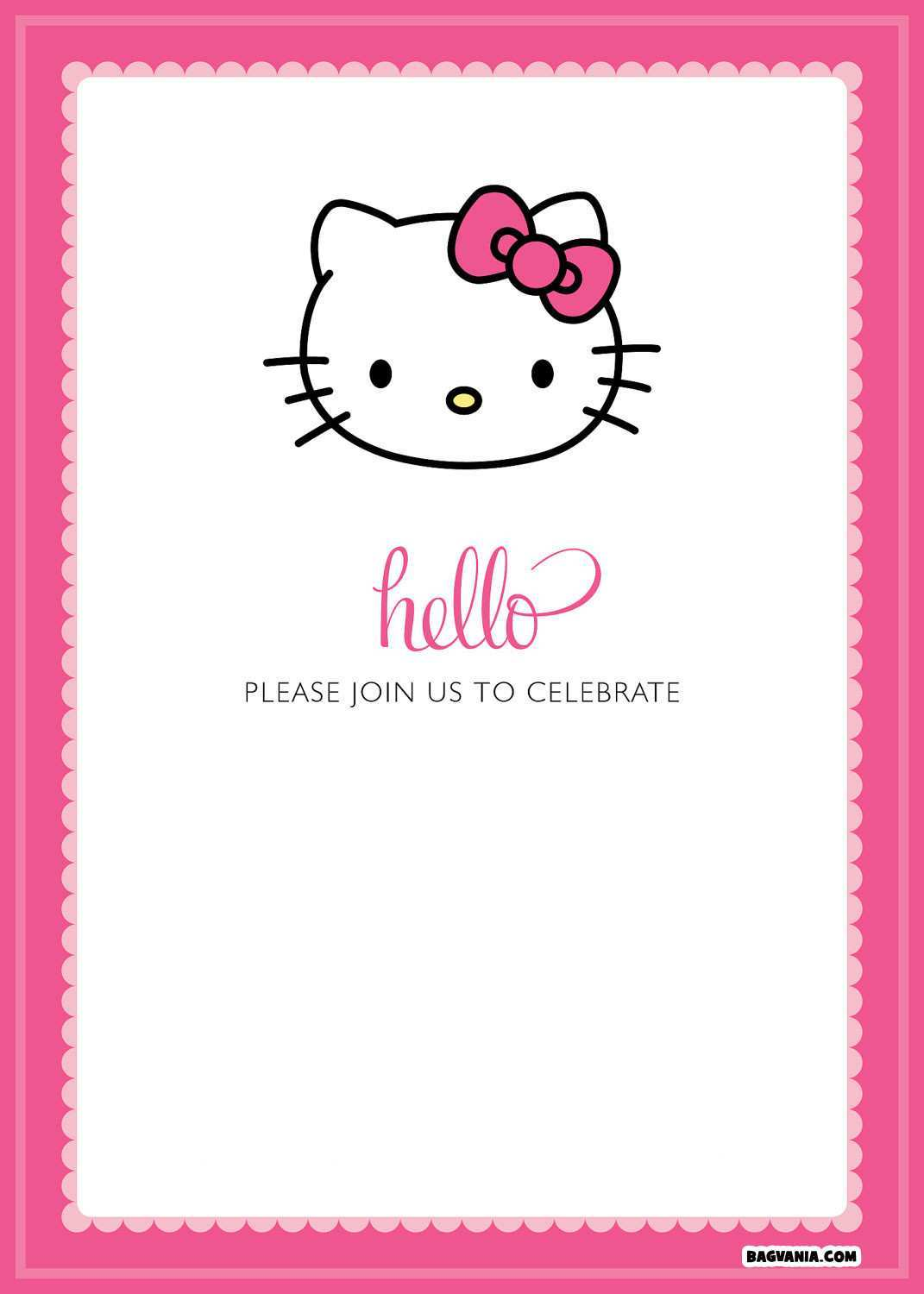 16 creative hello kitty birthday