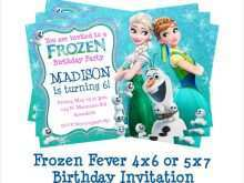 45 blank olaf birthday invitation