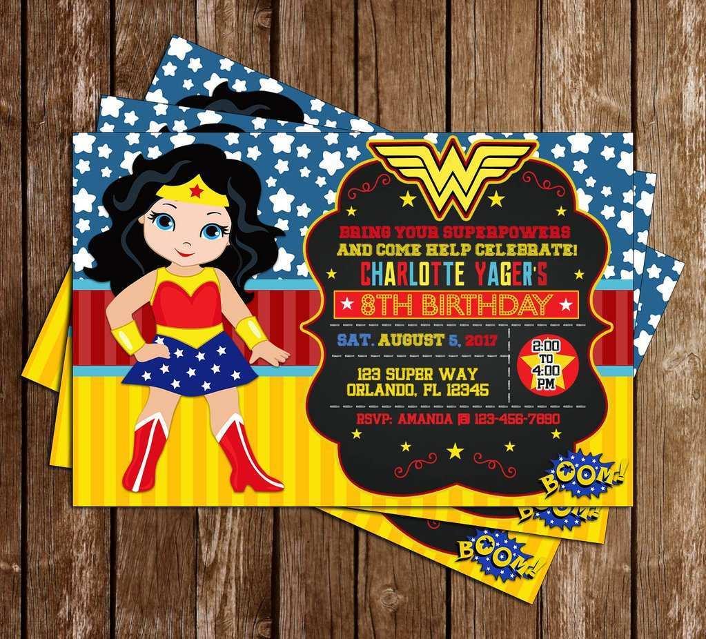 49 creating wonder woman birthday