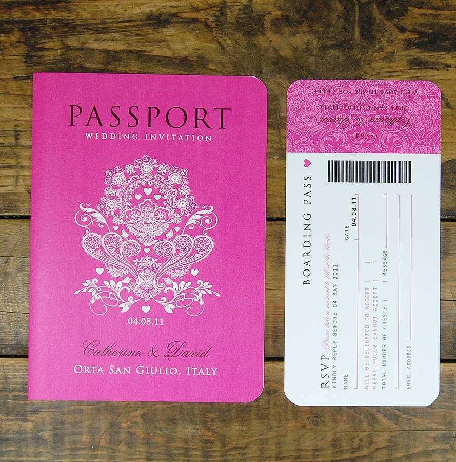 58 online passport birthday invitation