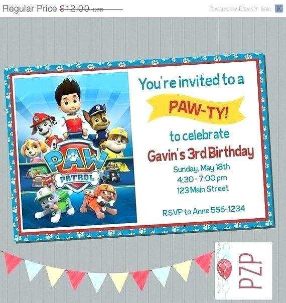 65 creative paw patrol birthday
