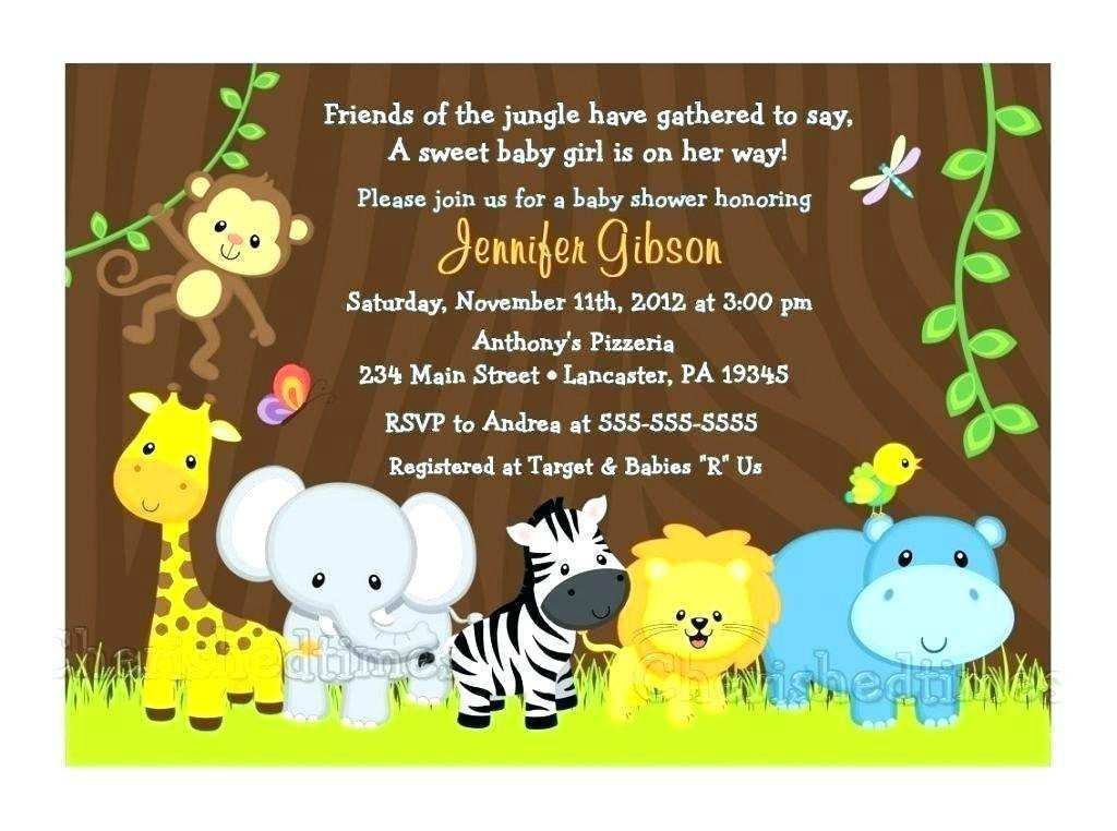 69 create safari birthday invitation