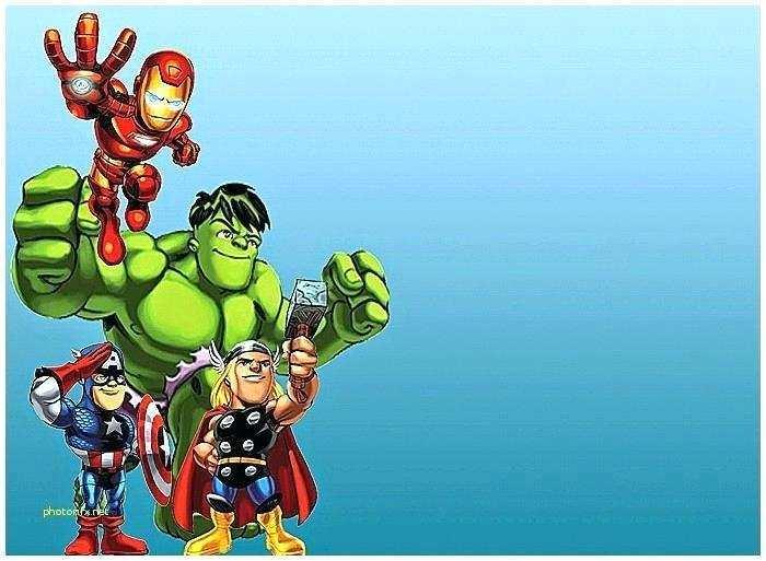 70 create avengers birthday invitation