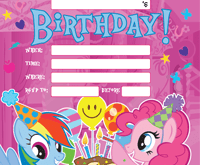 50 printable my little pony birthday