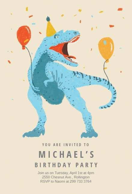 92 printable dinosaur birthday