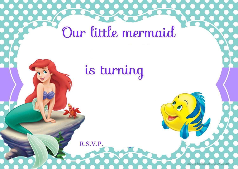 94 free printable little mermaid