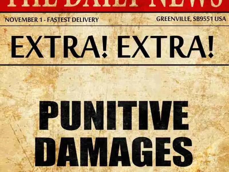 punitive damages (1)