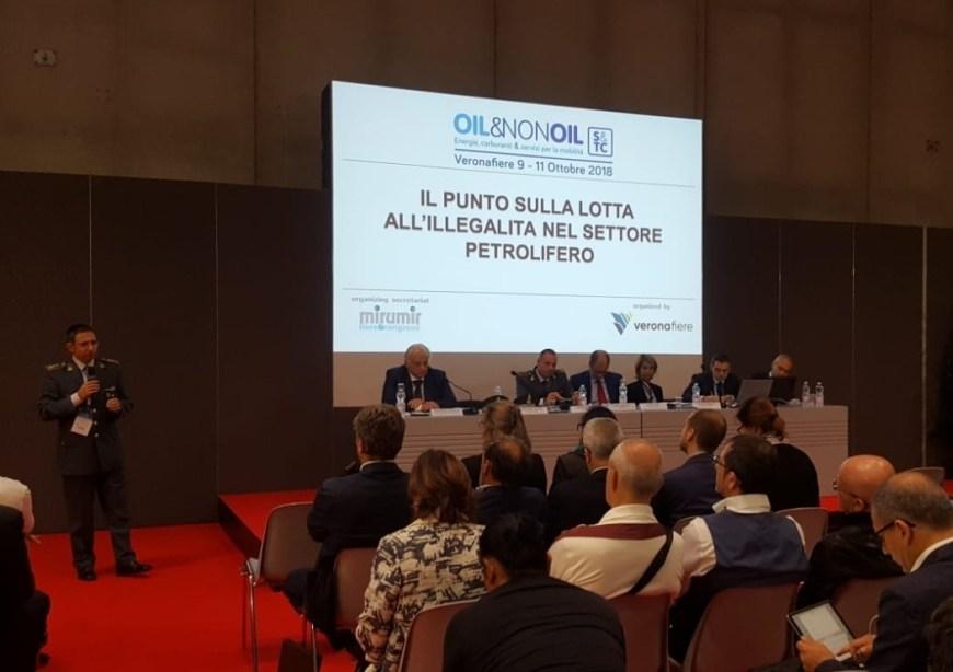 L'avvocato Bonaventura Sorrentino al convegno di Oil&nonoil