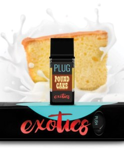 Plug Play Pound Cake Vape Cartridge