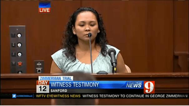 State witness Jeannee Nanalo