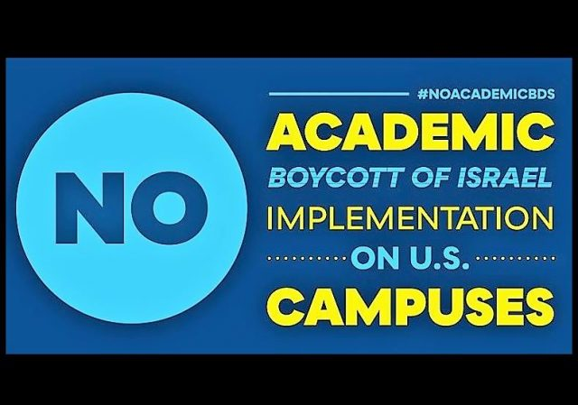 ALERT - University Presidents called upon to prevent rogue faculty from implementing Academic Boycott of Israel