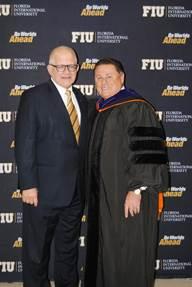 FIU President Mark B. Rosenberg, Robert Zarco