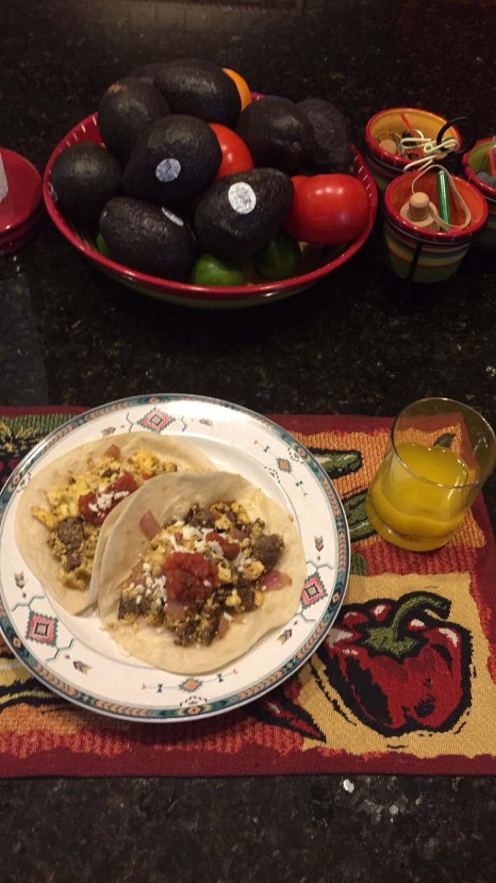 How to make healthy tacos cooking food
