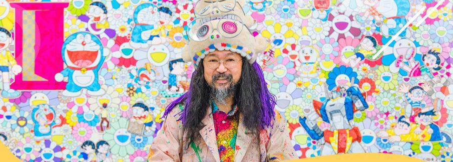Takashi Murakami No Instituto Tomie Ohtake