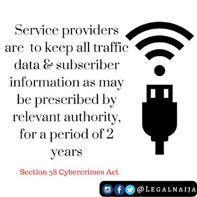 Duty of service providers to reveal customer information