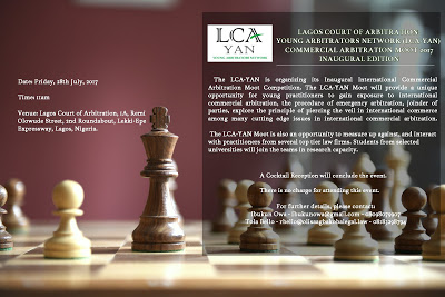 International' Commercial Arbitration Moot Competition by LCA-YAN